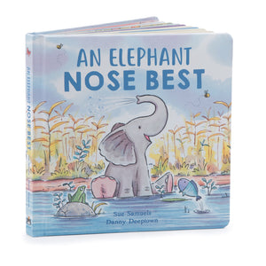 An Elephant Nose Best Book by Jellycat