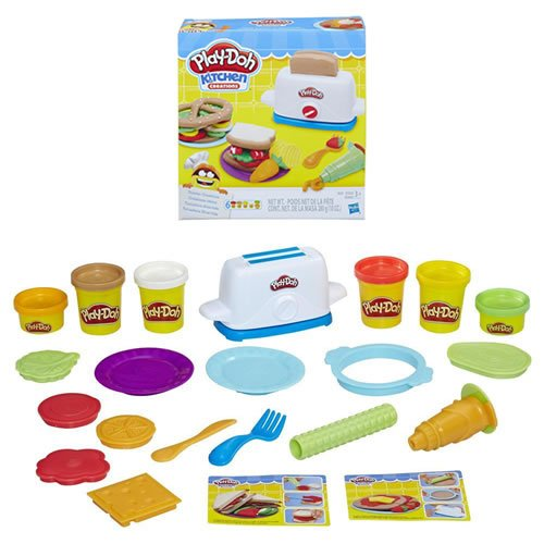 Hasbro Playdoh Toaster creations