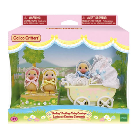 Darling Ducklings Baby Carriage by Calico Critters # CF1941