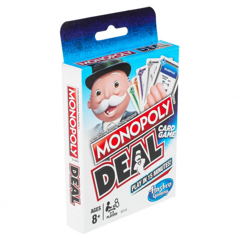 Monopoly Deal by Hasbro  #HSBE3113
