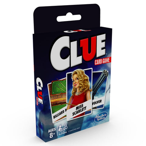Clue Card Game #HSBE7589