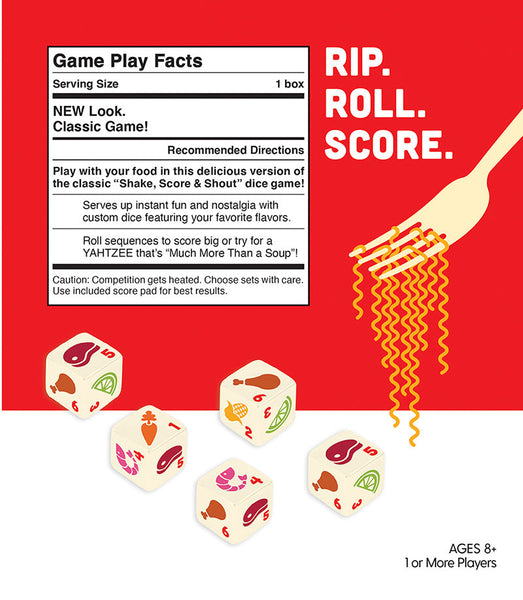 Yahtzee Cup of Noodles by USAopoly