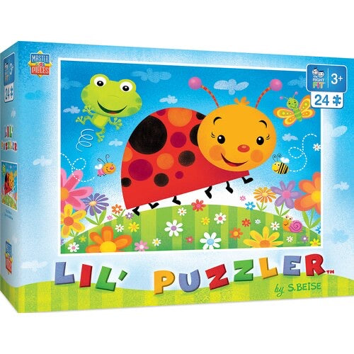 Lil Puzzler - Bug Buddies 24pc Puzzle by Masterpieces #11825
