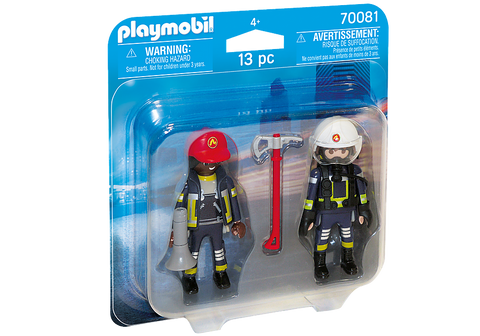 Rescue Firefighters by PLAYMOBIL #70081