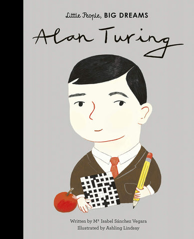 Little People, Big Dreams Book-Alan Turing