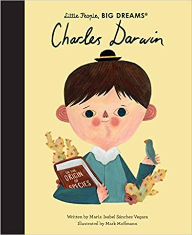 Little People, Big Dreams Book-Charles Darwin