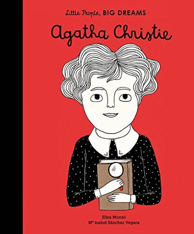 Little People, Big Dreams Book-Agatha Christie