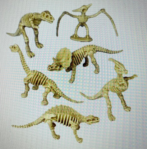 Skeleton Dinos by US Toy Co.