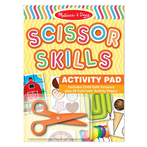 Scissor Skills Activity Pad- Games & Shapes by Melissa & Doug #2304