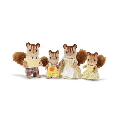 Hazelnut Chipmunk Family by Calico Critters #CC1777
