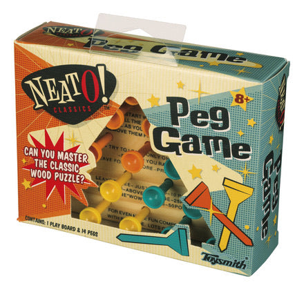 Peg Game by Toysmith #1954