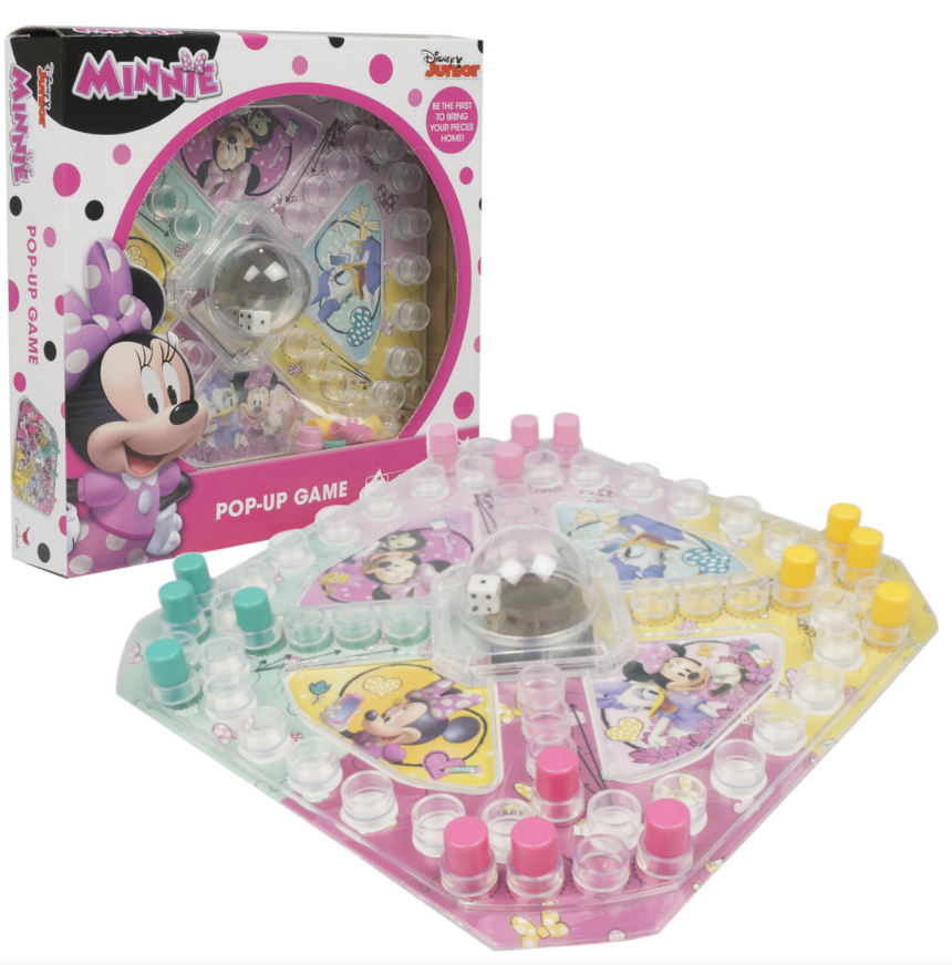 Minnie Pop Up Game