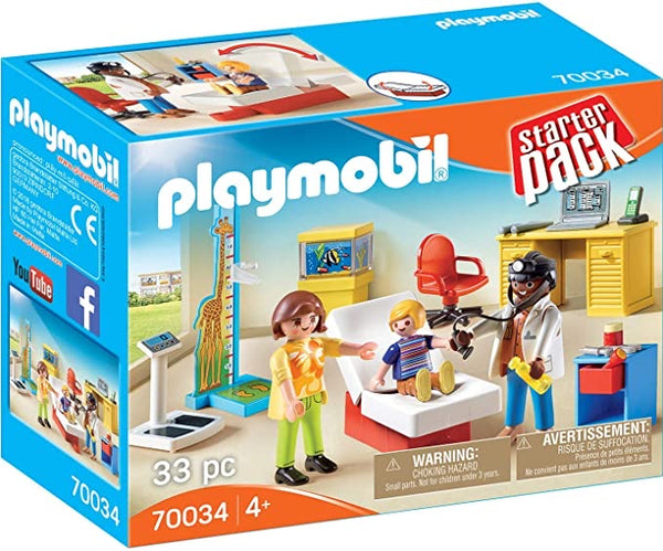 Starter Pack Pediatrician's Office by PLAYMOBIL #70034