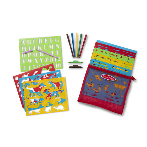 Stencil Activity Set by Melissa & Doug #30624