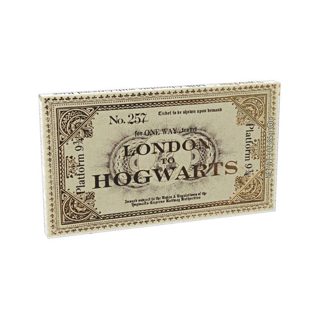 Harry Potter Hogwarts Express Ticket Chocolate by Jelly Belly