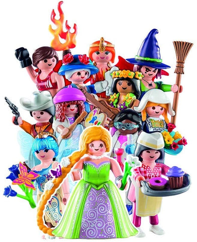 Figures Series 15 Girls by PLAYMOBIL #70026