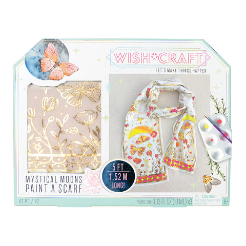 Wish*Crafts Mystical Moons Paint a Scarf by Bright Stripes
