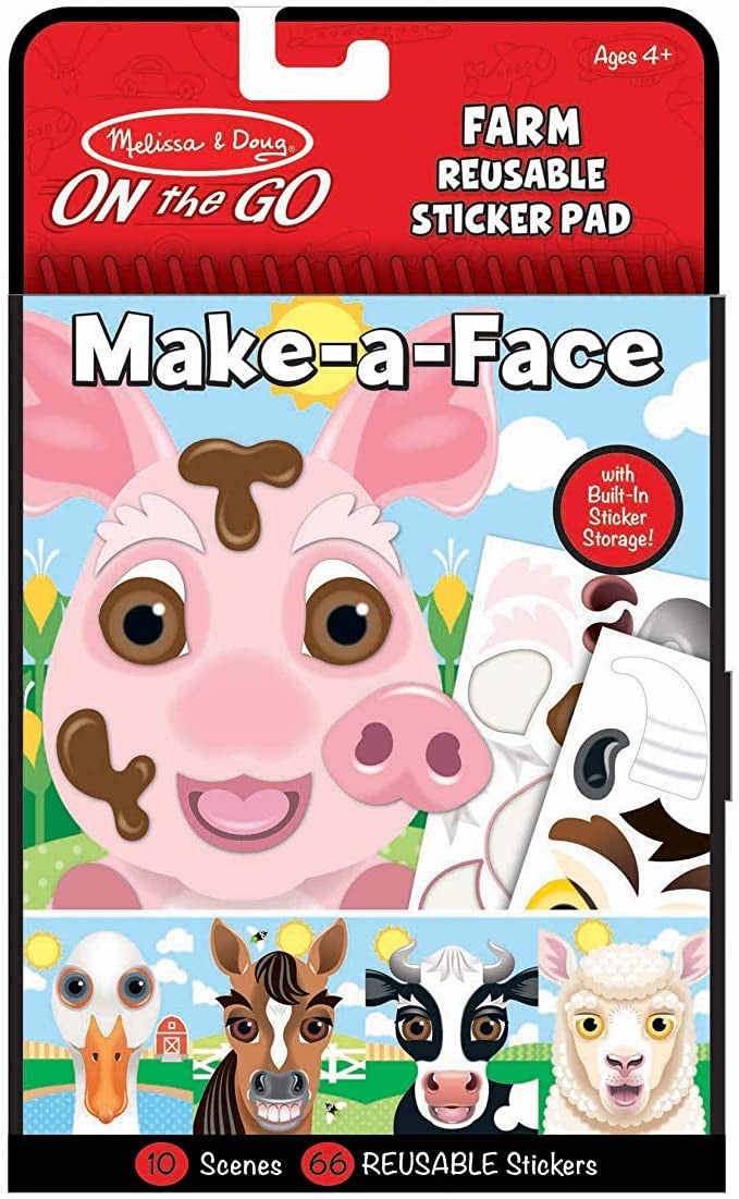 Make-a-Face Farm by Melissa & Doug
