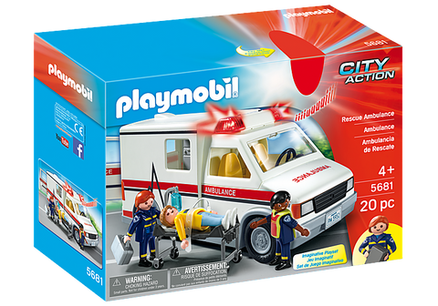 Rescue Ambulance by PLAYMOBIL #5681