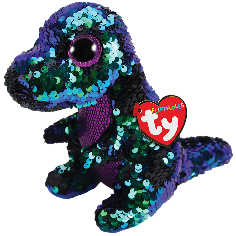 "Crunch Flippables Beanie Boo 6"" by TY"
