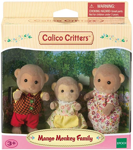 Mango Monkey Family by Calico Critters # CC1489