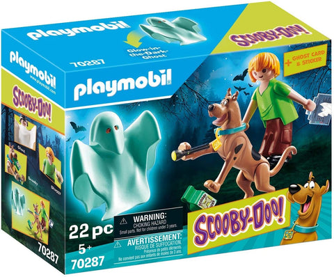 Scooby Doo & Shaggy with Ghost by PLAYMOBIL #70287
