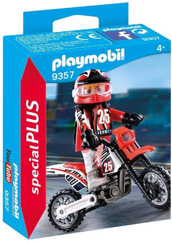 Motocross Driver by PLAYMOBIL #9357