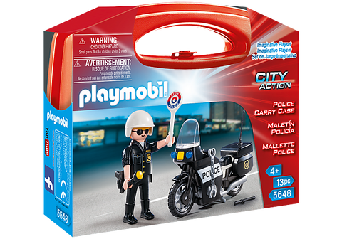 Police Carry Case by PLAYMOBIL #5648