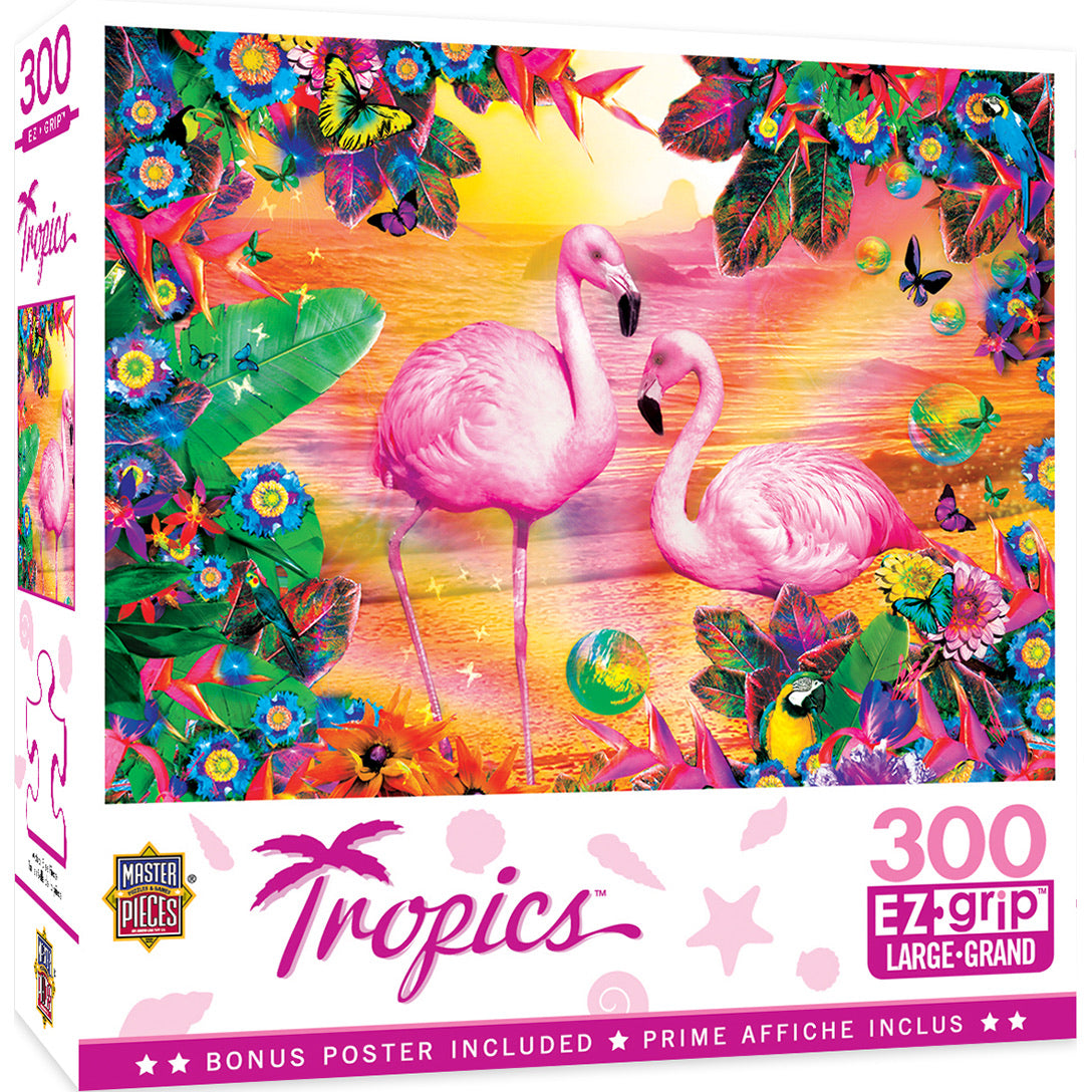 Tropics - Pretty in Pink 300pc EzGrip Puzzle by Masterpieces #19529