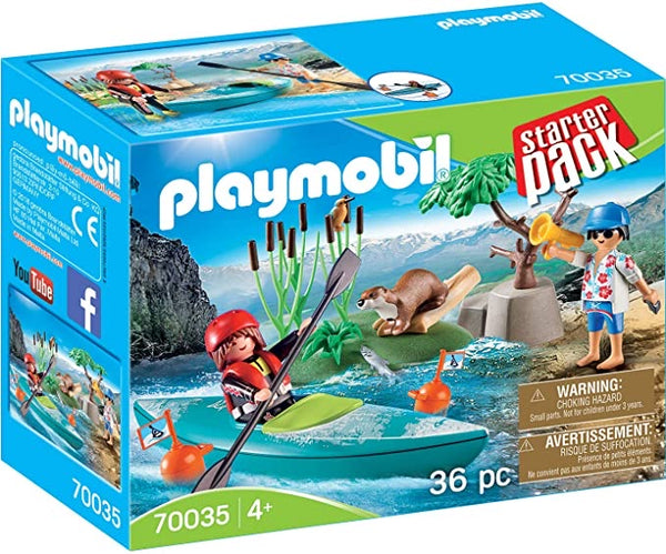 Starter Pack Kayak Adventure by PLAYMOBIL #70035