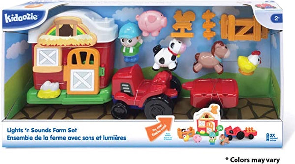 Lights & Sounds Farm Play Set by Kidoozie