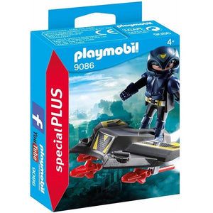 Sky Knight with Jet by PLAYMOBIL #9086