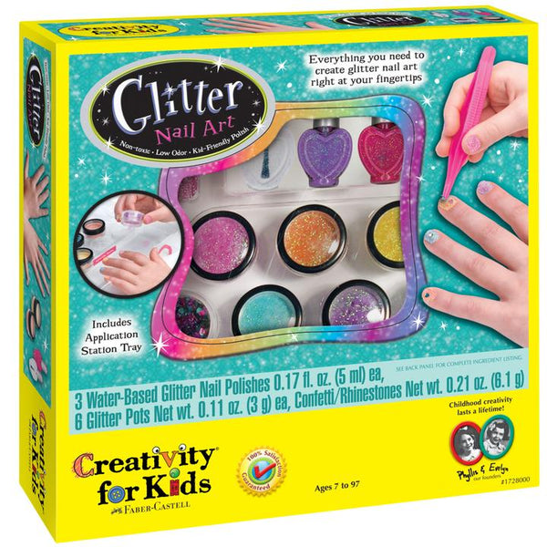 Glitter Nail Art Kit by Faber-Castell #1728000