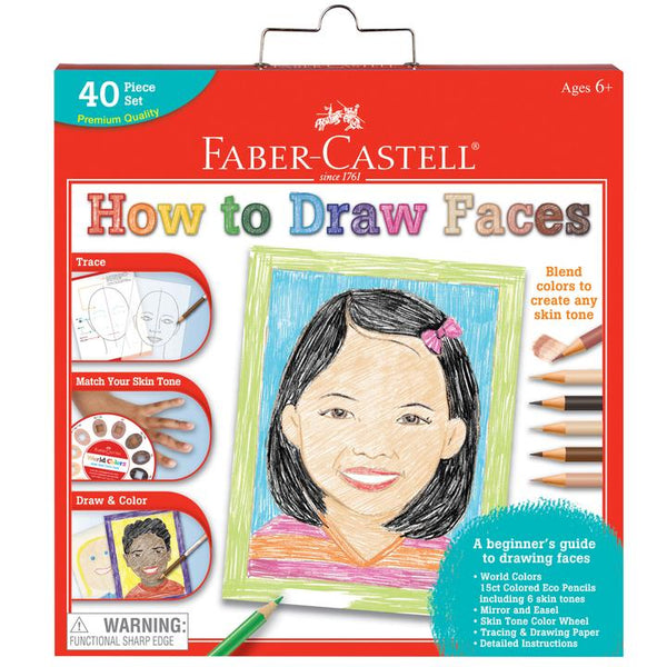 How to Draw Faces by Faber-Castell #14344