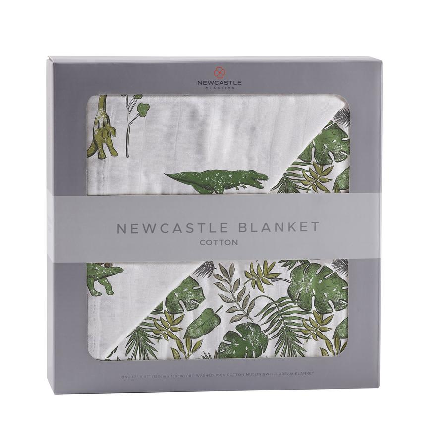 Bamboo Blanket- Dino Days & Jurassic Forrest by Newcastle Classics