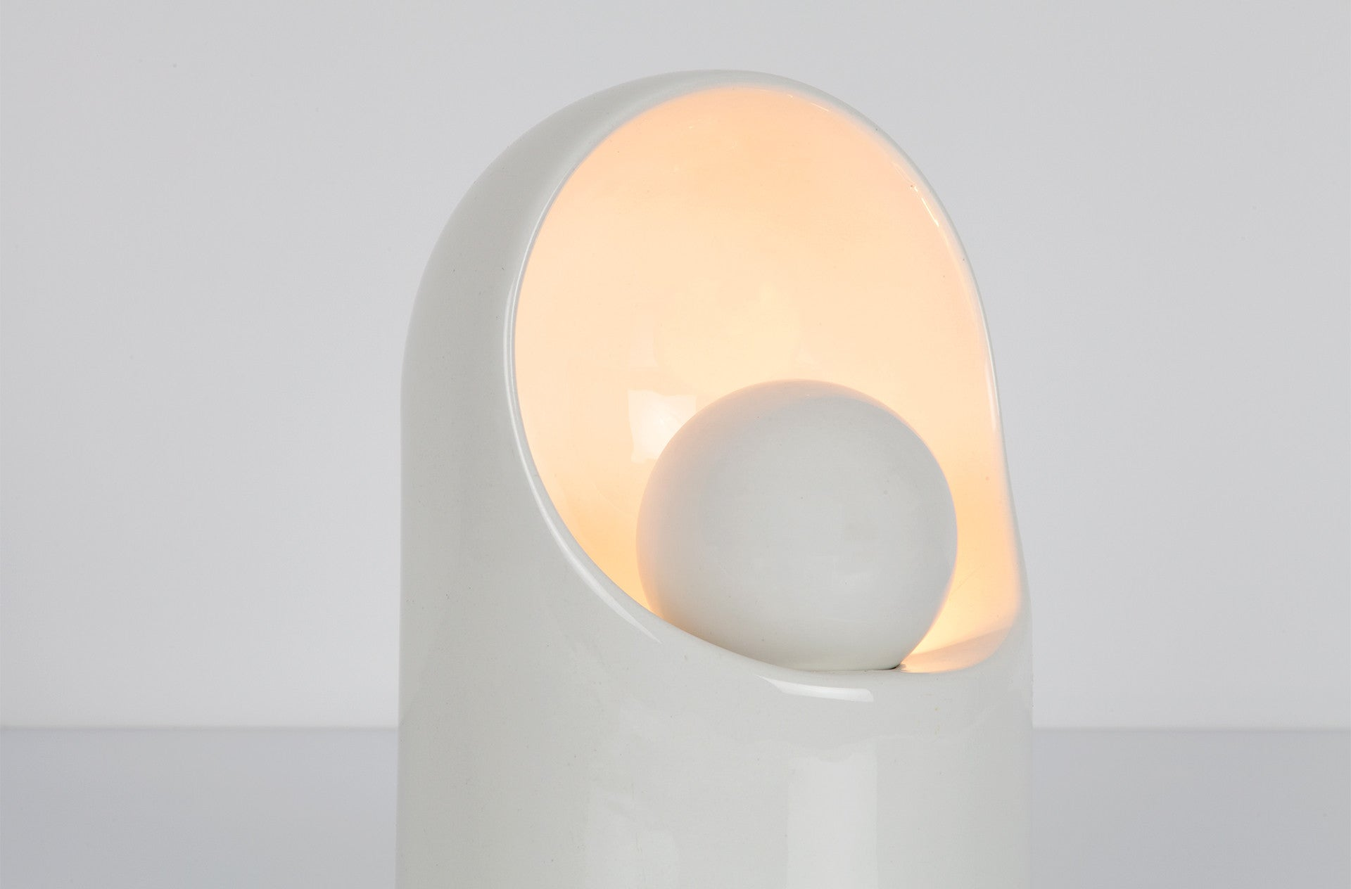 Ceramic Table Light by Marcello Cuneo