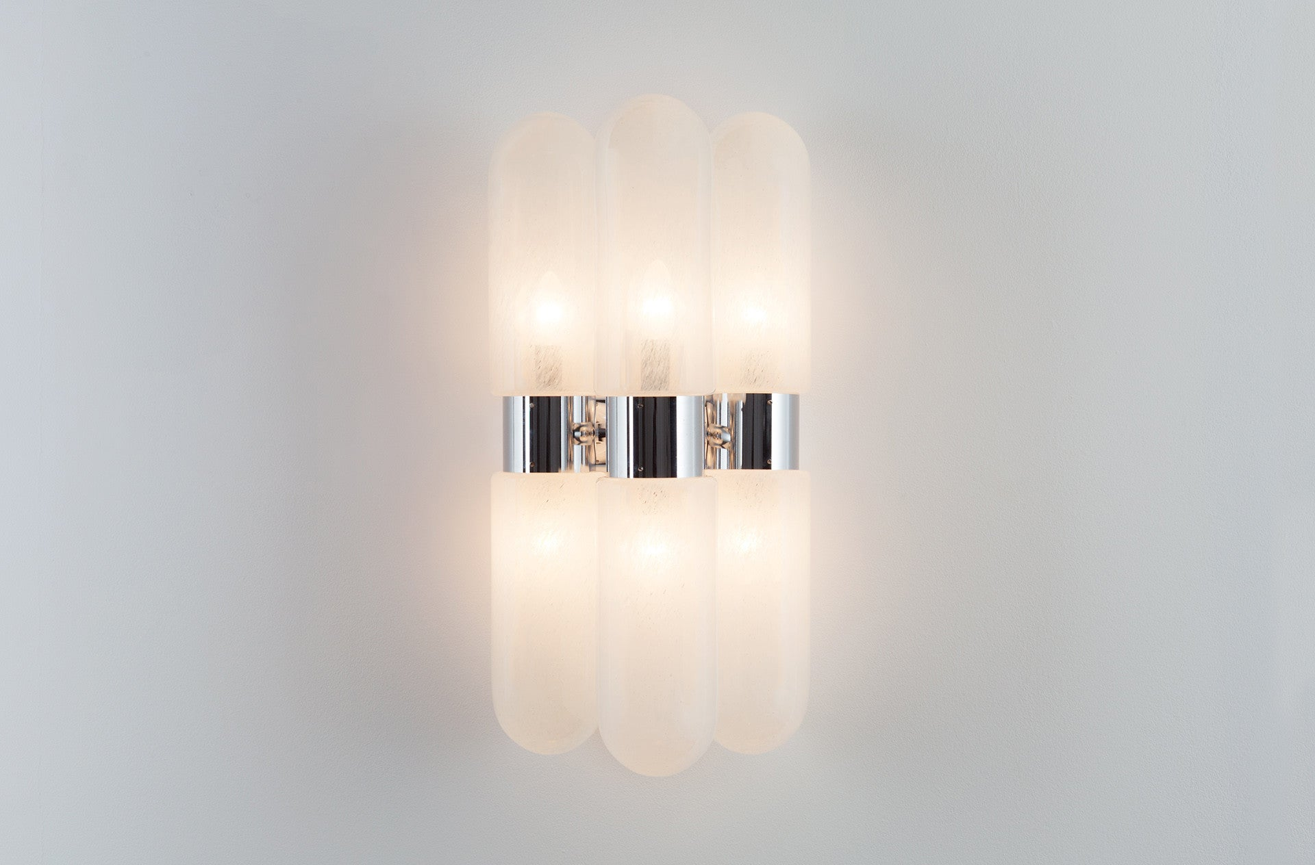 Italian Tubular wall sconces