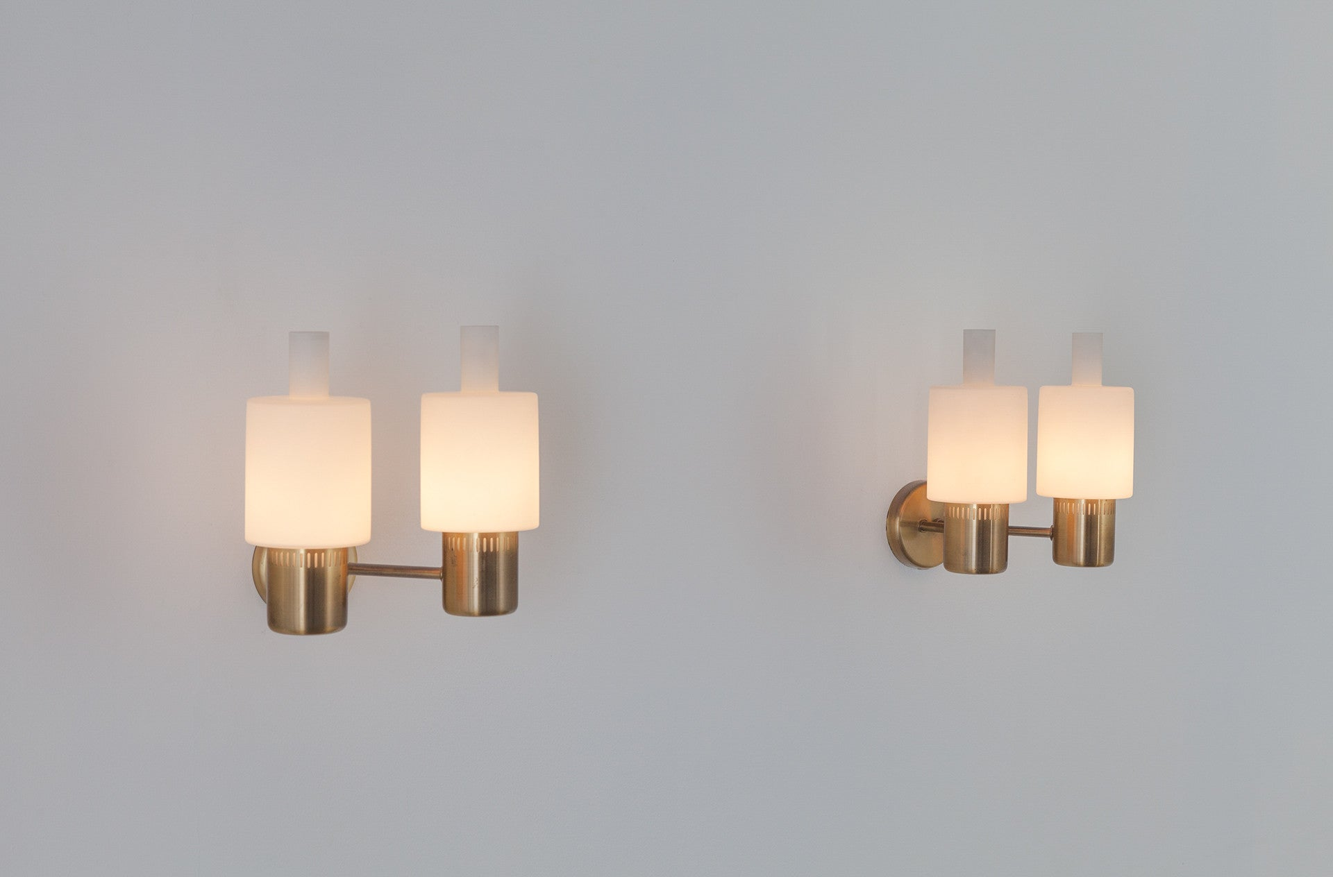 Nordlys wall light by Jo Hammerborg