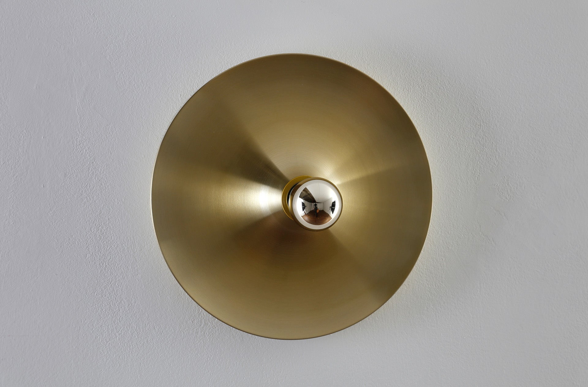 Golden Flush mount light by Honsel