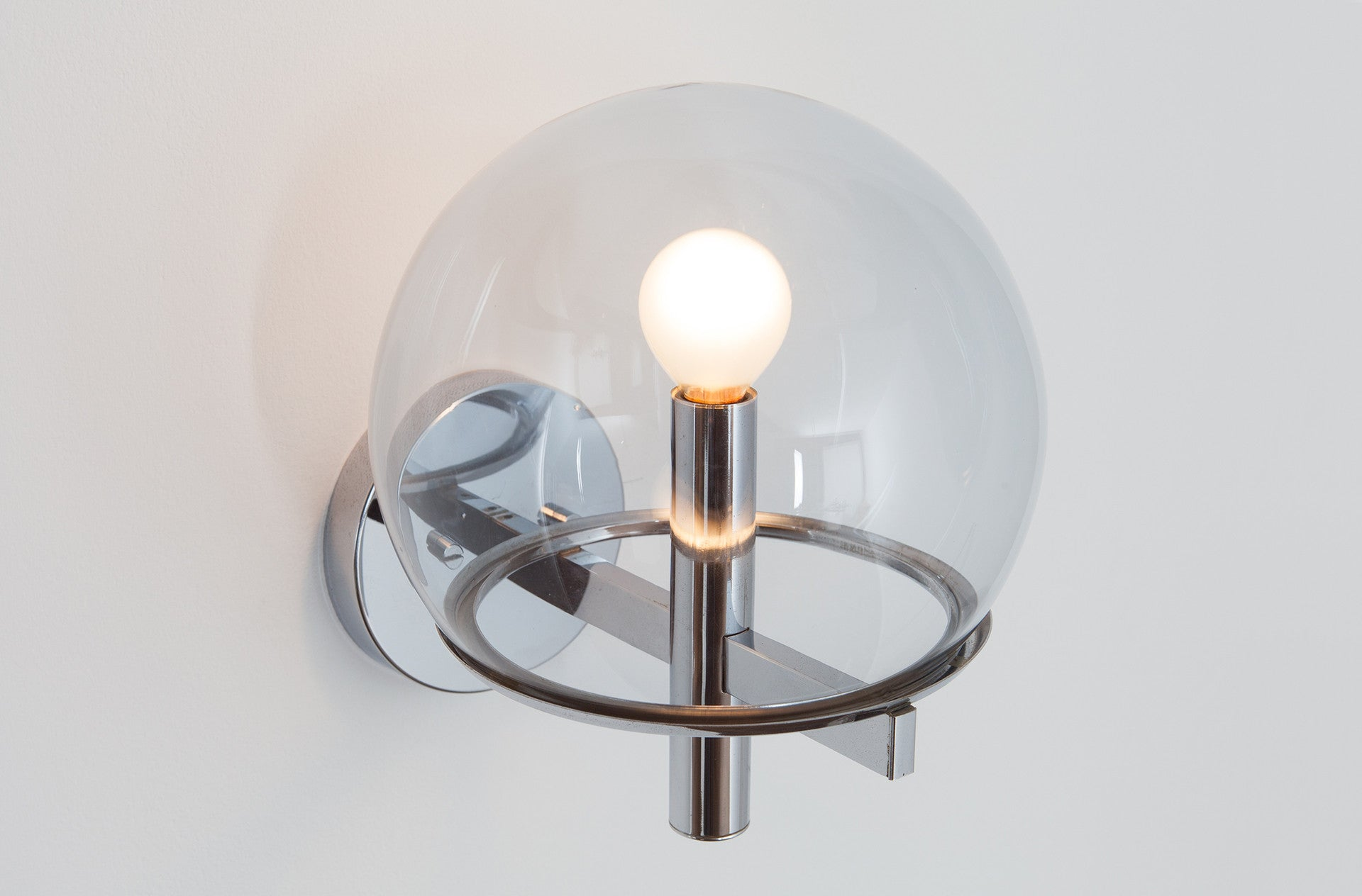Club wall sconce by Angelo Gaetano Sciolari
