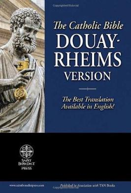 The Holy Bible: Douay-Rheims Version - Tumblar House