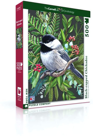 Black-capped Chickadee 500pc Puzzle