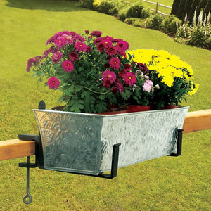Clamp-On Flower Box Brackets, 8 Inch