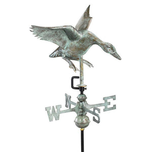 Cottage-Size Landing Duck Weathervane