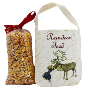 Holiday Good Luck Gift Rein w/Corn