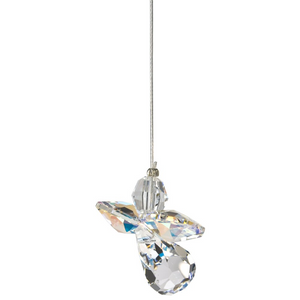 Crystal Guardian Angel Suncatcher, Aurora Borealis (April)