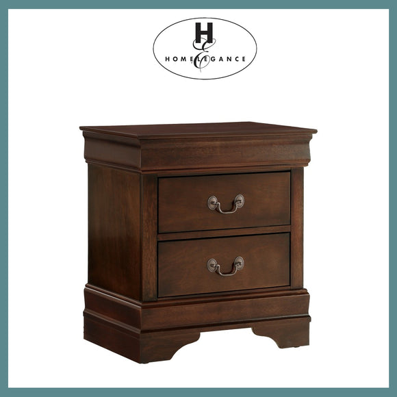 Homelegance Mayville Night Stand - Cherry