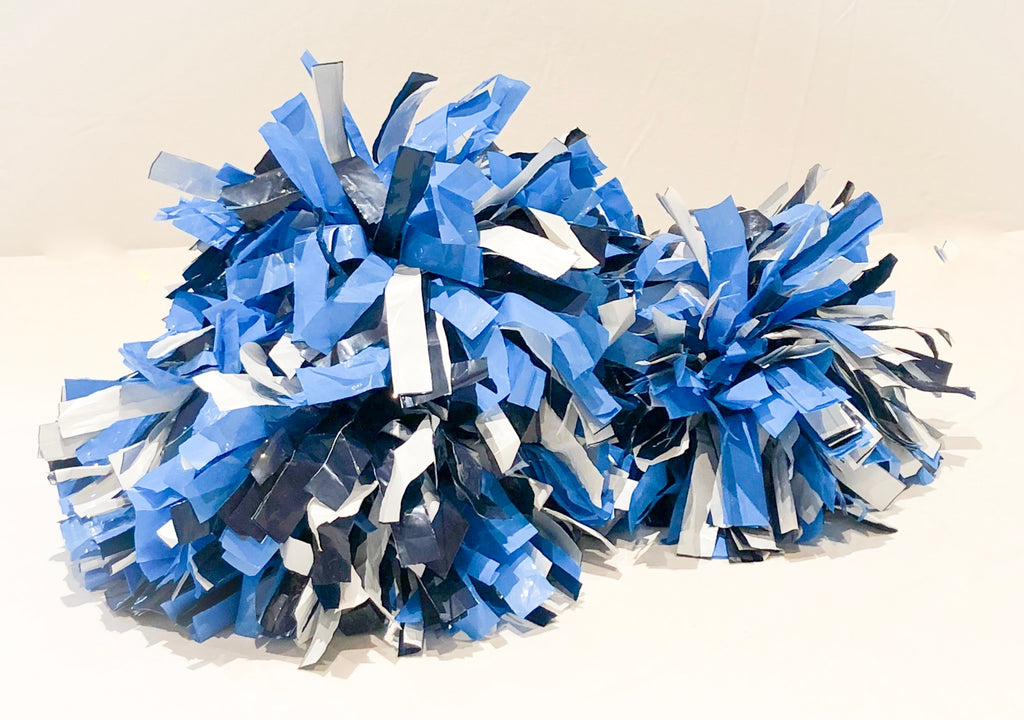 Spirit Pom Pom Set of 2 Multi Colored 12""