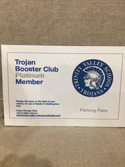 2018-19 Platinum Booster Club Membership
