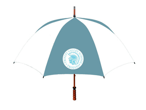 Spirit Umbrella Large Columbia Blue/White